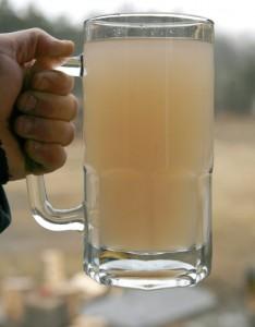 'piteina voda' negodna za piene v blizost do stanciq za dobiv na shistov gaz