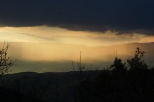 Slunce po vreme na dujd